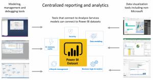 centralized power bi dataset